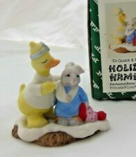 Fitz & Floyd Holiday Hamlet - Dr Quack and Patient - 1993