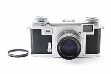 Zeiss Ikon CONTAX IIa 35mm Camera w/ Carl Zeiss 50mm F2 Excellent+ from Japan