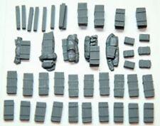 1/72 Escala 720ag WW2 Alemán Munición Cajas (40 piezas) Tanque estriba