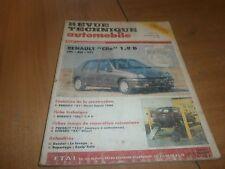 revue technique renault clio et renault 21(60)