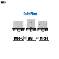 UGI Braided Magnetic Micro USB USB-C Type C IOS Fast Charger Charging Cable Lot