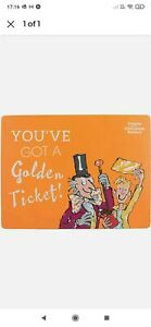 Roald Dahl Charlie & the Chocolate Factory Cork Backed Placemat Dinner Kids Gift