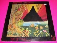 LESLIE WEST SIGNED MOUNTAIN LIVE VINYL LP W/ PROOF