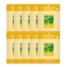 Korea Snail  Essence Full Face Facial Mask Sheet (10 Combo Pack) New | US SELLER