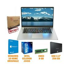 "COMPUTER NOTEBOOK PORTATILE DIGIQUADRO TWO 15,6"" J3455 8GB SSD 256GB 1080P DAD-"