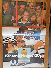 1971 Benson & Hedges Cigarette Ad   Fighting at a Ice Hockey Game