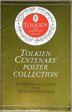 TOLKIEN CENTENARY COLLECTION PORTFOLIO ~ LORD OF THE RINGS ~ 6 IMAGES ALAN LEE