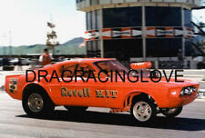 "Skip Hess ""Revell Kit"" 1967 Ford Mustang Gasser 8x10 GLOSSY PHOTO!"