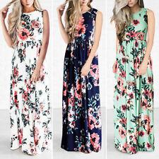 Bodenlange Damenkleider im Boho -/Hippie-Stil in Größe XL