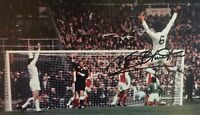 Signed Norman Hunter Leeds United 1972 Photo (2)