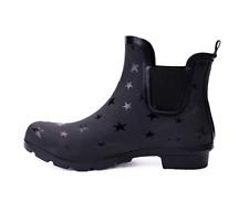 Women's Printed Rubber Ankle Wellie,Waterproof Rain Shoes,Ladies Wellington Boot