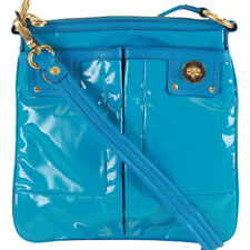 NWT Marc by Marc Jacobs Patent Leather Sia Crossbody Bag Nile Blue