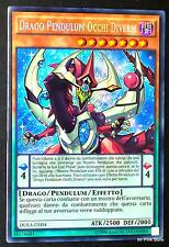 DRAGO PENDULUM OCCHI DIVERSI DUEA-IT004 Rara Segreta in Italiano YUGIOH