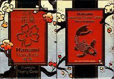 Hanami Hanafuda Playing Cards Poker Size Deck LPCC Custom Limited Edition Sealed