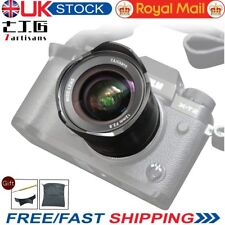 UK 7artisans 12mm F2.8 Ultra Wide-Angle Lens for Fuji X Mount Mirrorless Camera