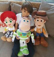 """Official Extra Large Toy Story Plush Buzz Jessie Woody 23"""" 59"""