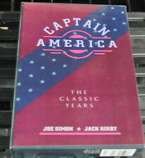 CAPTAIN AMERICA THE CLASSIC YEARS HARD COVER SLIPCASE RECALLED EDITION HTF! VF+