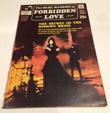 DARK MANSION OF FORBIDDEN LOVE #1 FN+ 6.5 DC 1971