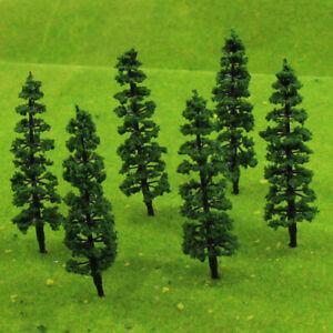 TC70 200pcs Layout Model Train Trees Scale HO 70mm