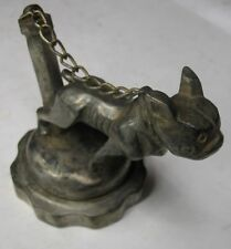 CHAINED BULLDOG  MASCOT RADIATOR CAP 1922 MODEL T FORD MACK RENAULT CADILLAC