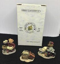 Boyds Village Sweet Treats, Caitlin's Samples, Dominck's Delivery Set Of 3