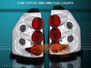 2002-2005 2006 GMC ENVOY ALTEZZA TAIL LIGHTS 2004 2003