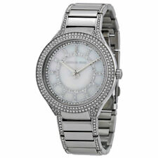 Michael Kors MK3311 Kerry MOP Crystal Stainless Steel Womens Watch