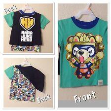 Harajuku Mini HARAJUKU HERO  T-shirt Boys Size 2T