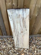 Spalted  Sycamore Board  Air dried,planed Unique Wood Lovely Figuring.