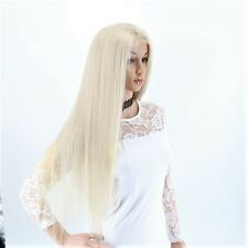 Stock Lace Front Glueless European #60 Str. Dble. Drwn.Human Hair Wigs w S.T