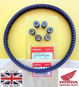 Honda PCX 125 ROLLER WEIGHTS & DRIVE BELT 2010 2011 2012 2013 2014 *UK STOCK*