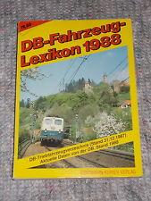 DB Fahrzeug-Lexikon 1988 , Fahrzeuge der Bahn