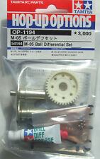 Tamiya 54194/OP-1194 RC M-05 Ball Diff. Differential Set For M05/M05Ra/M06/MF01X