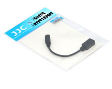 JJC CABLE-K2O Exchange Cable Adapter for FUJIFILIM FINEPIX HS50EXR & JJC REMOTE