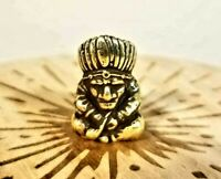 American Indian Chief Handmade Collectible Brass Decorative Miniature