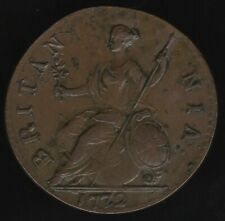 1772 George III Halfpenny Coin | British Coins | Pennies2Pounds