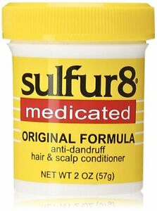 Sulfur 8 Medicated Original Hair and Scalp Conditioner 2oz (Small)