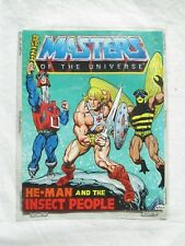 Vintage Mattel MOTU HE-MAN AND THE INSECT PEOPLE Mini Comic