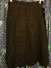 Linen A-Line Skirts for Women