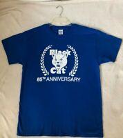 Black Cat Fireworks 65th Anniversary T-Shirt Adult Men's Large
