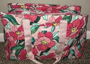 Vera Bradley TRIPLE COMPARTMENT Travel Bag in Different Designs