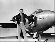 Chuck Yeager With The Bell X-1 - Unframed Aviation Photos