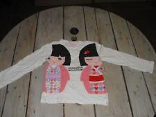 T-shirt manches longues imprimé Kokeshi KIMMIDOLL JUNIOR Taille 5 ans