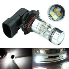 9006 100W LED 20-SMD Projector Fog Driving DRL Light Bulbs White 6000K