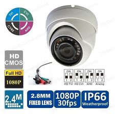 4-IN-1 1080P 1/3 HD SONY CCD Intelligent Cctv In/Outdoor Dome Camera