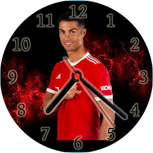 CD wall clock premier league man utd RONALDO