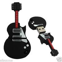 8-32GB High Speed Guitar USB 2.0 Metal Flash Memory Stick Storage Thumb U Disk