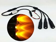 Micro Effects Light 3X amber LED & control flash blink 9V prop models MELKITA-5B