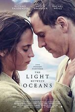 The Light Between Oceans Movie Poster (24x36) - Michael Fassbender, Vikander