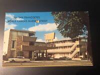 San Francisco, California Beck's Motor Lodge Market Street Postcard USA Vintage